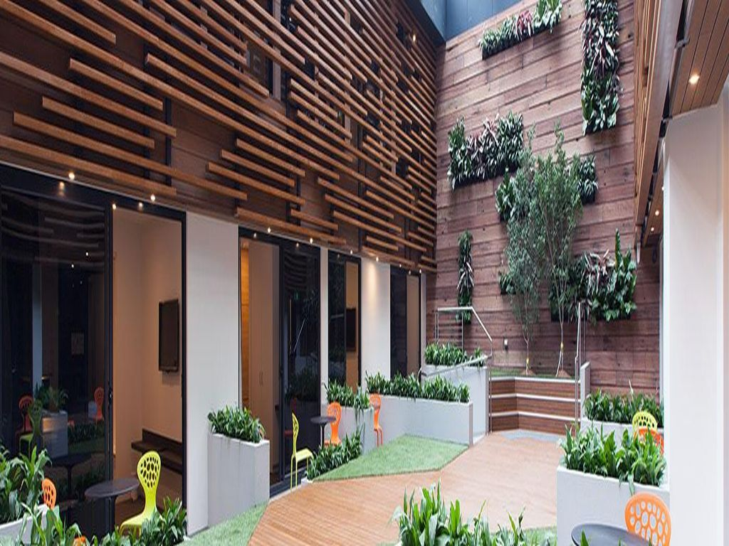 Concrete Gl And Wood Make Up The Majority Of This Melbourne Home Work Together To Create A Warm Inviting Open E